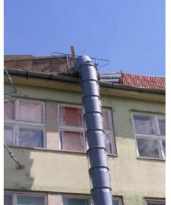 pítési törmelékcsúszda sittledobó cső bérlése kölcsönzése budapest