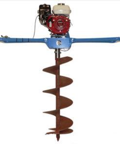 benzines kétszemélyes gödörfúró gép bérlése kölcsönzése
