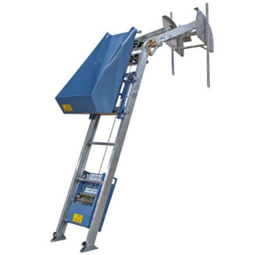 geda cserépfelvonó építési ferdepályás felvonó lift cseréplift bérlése kölcsönzése