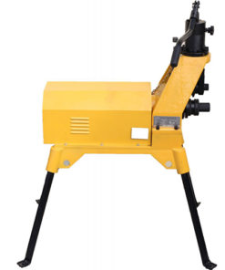 12 coll 315mm hidraulikus sprinkler spinkler csőhornyoló grúvoló gép bérlése kölcsönzése