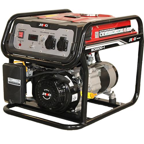 220V 2.2 kw egyfázisú benzines áramfejlesztő aggregátor generátor bérlése kölcsönzése