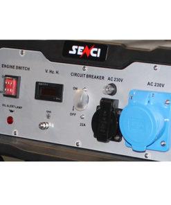 220V 5.5 kw egyfázisú benzines áramfejlesztő aggregátor generátor bérlése kölcsönzése