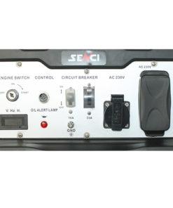 220V 8.5 kw egyfázisú benzines áramfejlesztő aggregátor generátor bérlése kölcsönzése kölcsönzése