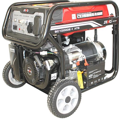 220V 8.5 kw egyfázisú benzines áramfejlesztő aggregátor generátor bérlése kölcsönzése