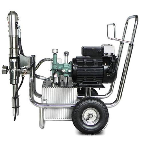 SPT 820 ipari nagynyomású glettszóró gép glettelő gép 2