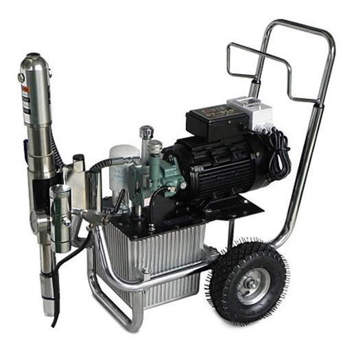 SPT 820 ipari nagynyomású glettszóró gép glettelő gép