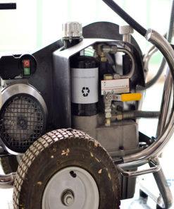 Storch 9000 glettszóró glettfújó glettelőgép bérlése kölcsönzése
