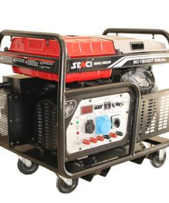 háromfázisú 380V 12 kw benzines áramfejlesztő aggregátor generátor bérlése kölcsönzése