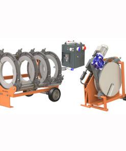 Weltech W630 hidraulikus KPE tompahegesztő gép bérlése kölcsönzése