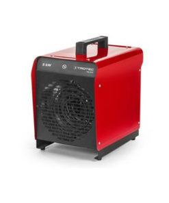 Trotec 5kw elektromos hőlégbefúvó melegítő hősugárzó gép kölcsönzése bérlése