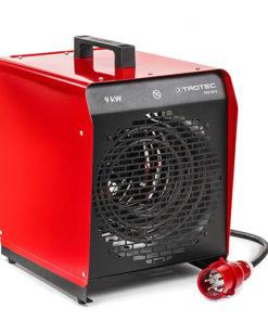 Trotec 9kw elektromos hőlégbefúvó hősugárzó melegítő gép bérlése kölcsönzése