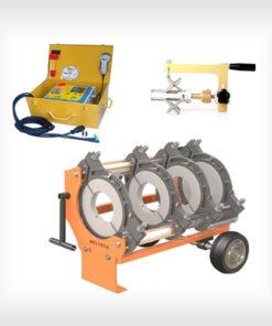 PE-KPE csőhegesztő gépek nyomás alatti csövekhez